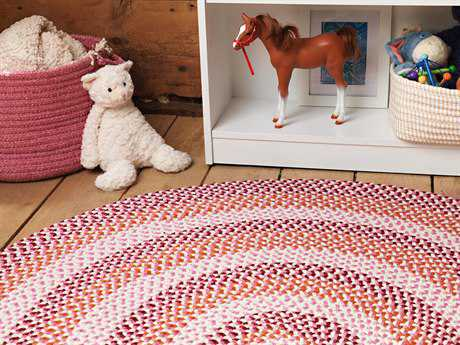 Colonial Mills Carousel Ruby Pop Area Rug