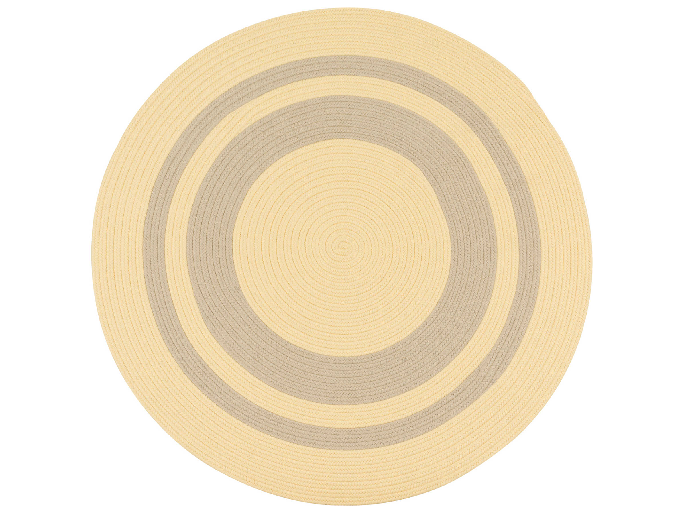 Colonial Mills Coronado Yellow Round Area Rug