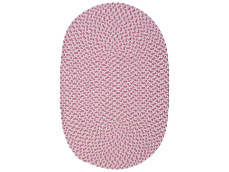 Colonial Mills Daybreak Kids Passion Pink Oval Area Rug