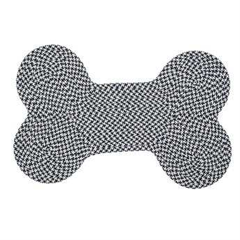 Colonial Mills Dog Bone Houndstooth Navy Area Rug CIOT59RG