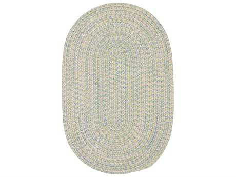Colonial Mills Kicks Cove Pastel Oval / Round Area Rug