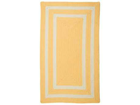 Colonial Mills La Playa Sun Yellow Rectangular / Square Area Rug