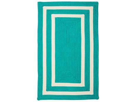 Colonial Mills La Playa Aqua Rectangular / Square Area Rug