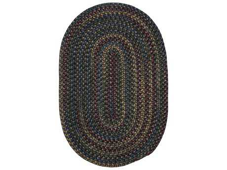 Colonial Mills Midnight Charcoal Oval / Round Area Rug