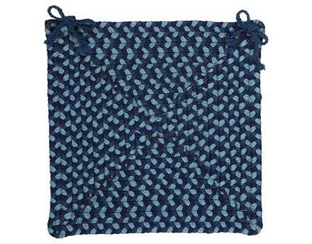 Colonial Mills Montego Blue Burst Chair Pad CIMG59CPD