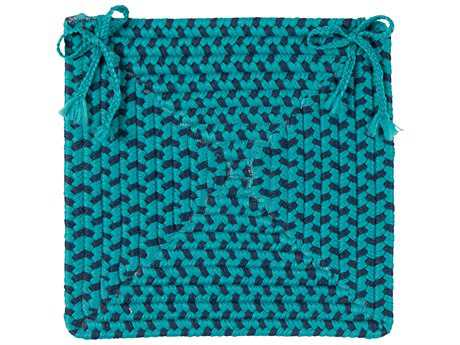 Colonial Mills Montego Oceanic 15''x15'' Square Chair Pad CIMG99CPDSQU