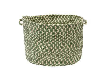 Colonial Mills Montego Lily Pad Green Utility Basket CIMG19BKT