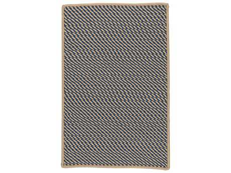 Colonial Mills Point Prim Blue Rectangular / Square Area Rug