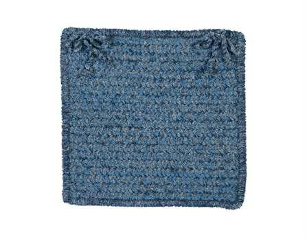 Colonial Mills Simple Chenille Petal Blue Chair Pad