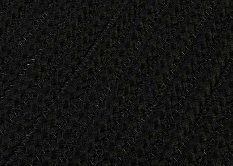 Colonial Mills Simply Home Solid Rectangular Black Area Rug CIH031RGREC
