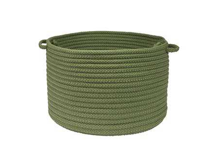 Colonial Mills Simply Home Solid Moss Green Utility Basket CIH123BKT