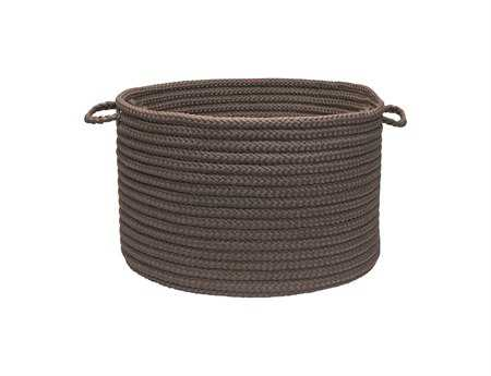 Colonial Mills Simply Home Solid Gray Utility Basket CIH661BKT