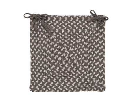 Colonial Mills Tiburon Misted Gray Chair Pad