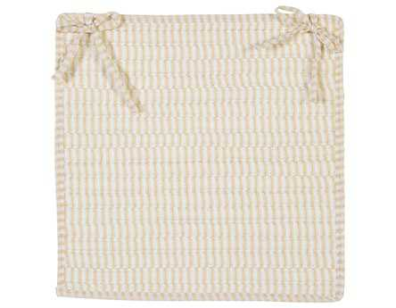 Colonial Mills Ticking Stripe Canvas Chair Pad CITK10CPD