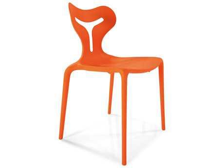 Connubia Area 51 Matte Orange Outdoor Stackable Chair CNUCB1042P942
