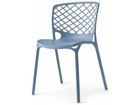 Connubia Gamera Matte Sky Blue Outdoor Stackable Chair CNUCB1459P100