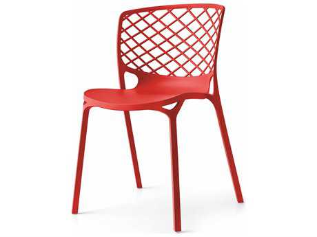Connubia Gamera Matte Red Outdoor Stackable Chair CNUCB1459P946