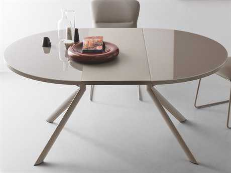 Connubia Giove 47''-65'' Wide Round Extending Dining Table CNUCB4739