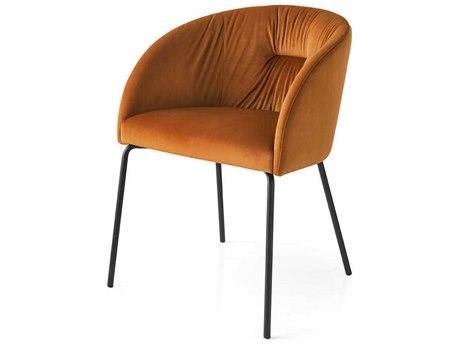 Connubia Rosie Soft Brick Red & Matt Black Dining Chair CNUCB1901P15S0K