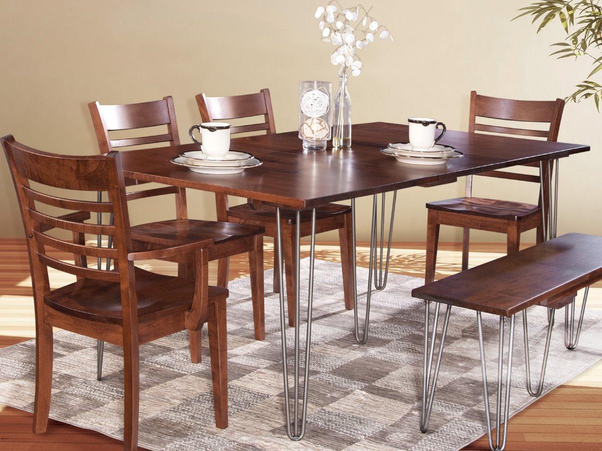 Conrad Grebel Manhattan 58 Wide Rectangular Dining Table