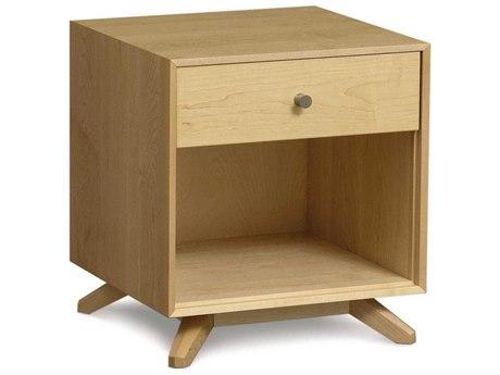 Copeland Furniture Astrid 19''W x 18''D Rectangular One-Drawer Nightstand