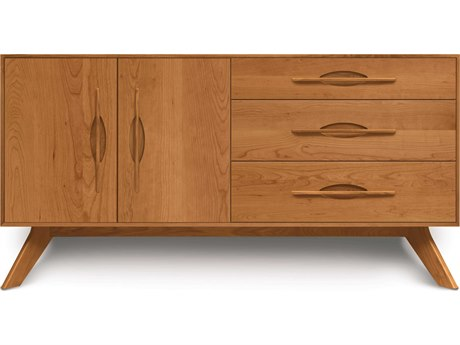 Copeland Furniture Audrey 66''L x 18''W Rectangular Three-Drawer on Right Buffet