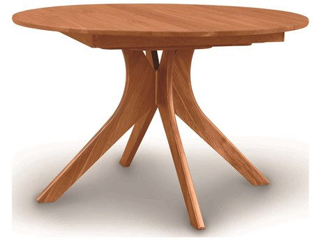 Copeland Furniture Audrey 48'' Wide Round Extension Dining Table