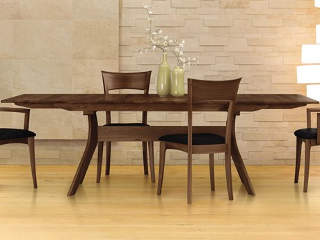 Copeland Furniture Audrey 66''-90 ''L x 42''W Rectangular Extension Dining Table CF6AUD22