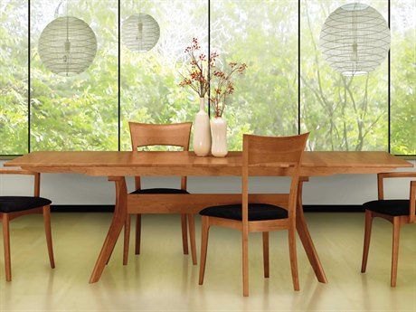 Copeland Furniture Audrey 60''-84''L x 38''W Rectangular Extension Dining Table CF6AUD23