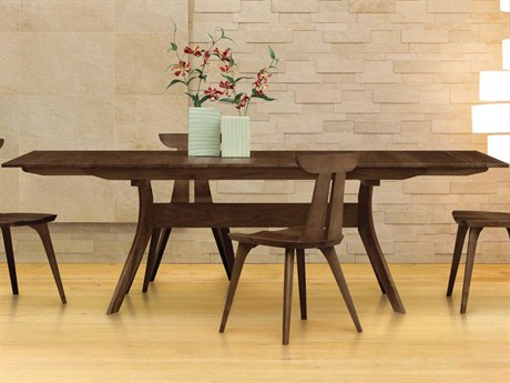 Copeland Furniture Audrey 84''-108''L x 46''W Rectangular Extension Dining Table CF6AUD28
