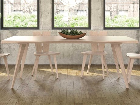 Copeland Furniture Axis 60''L x 36''W Rectangular Dining Table CF6AXS36