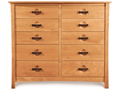 Copeland Furniture Berkeley Ten-Drawers Double Dresser