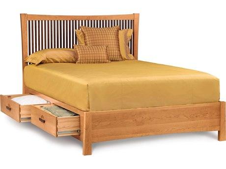 Copeland Furniture Berkeley Platform Bed with Storage