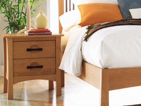 Copeland Furniture Berkeley 24''W x 22''D Rectangular Two-Drawer Nightstand