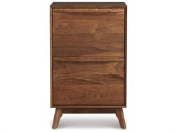 Catalina Natural Walnut Narrow File Cabinet