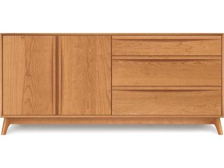 Copeland Furniture Catalina 66''L x 18''W Rectangular Three-Drawer on Right Buffet