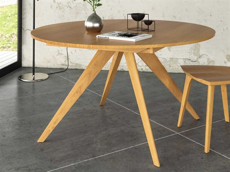 Copeland Furniture Catalina 48'' Wide Round Extension Dining Table CF6CRE48