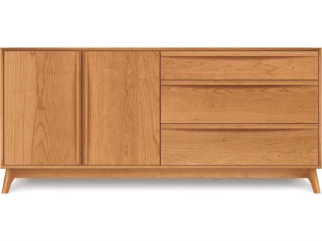 Copeland Furniture Catalina Three-Drawers on Right Double Dresser