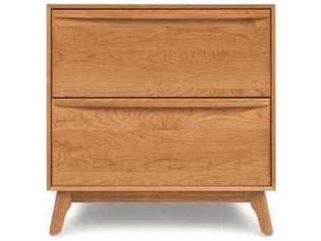 Copeland Furniture Catalina 27''W x 18''D Rectangular Two-Drawer Nightstand