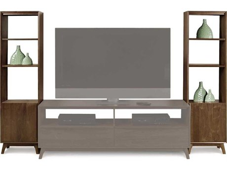 Copeland Furniture Catalina Natural Walnut Bookcase CF5CAL5504