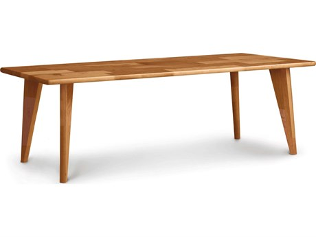 Copeland Furniture Essentials 48''L x 24''W Rectangular Coffee Table with Wood Legs