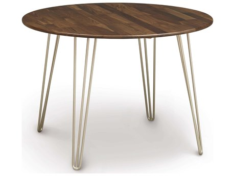 Copeland Furniture Essentials 42'' Wide Round Dining Table with Metal Legs
