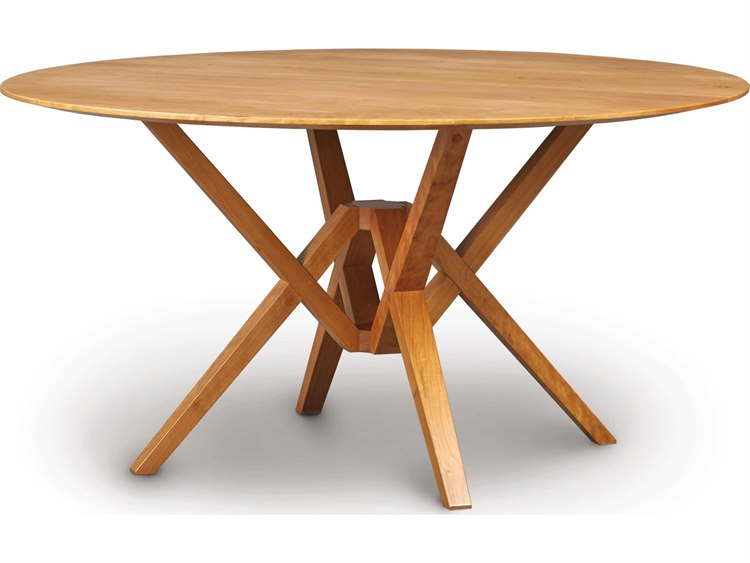 Wide Round Dining Table