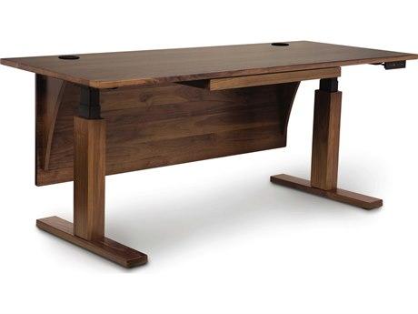 Copeland Furniture Invigo Sit-Stand Computer Desk CFINVIGODESKCU