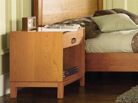 Copeland Furniture Mansfield 19''W x 18''D Rectangular One-Drawer Nightstand