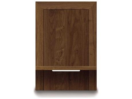 Copeland Furniture Moduluxe-35 24''W x 18''D Rectangular Shelf Nightstand to Match Plinth Base Bed CF2MOD08