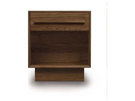 Copeland Furniture Moduluxe 19''W x 18''D Rectangular One-Drawer Nightstand