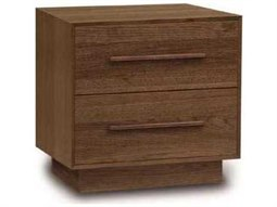 Moduluxe 27''W x 18''D Rectangular Two-Drawer Nightstand