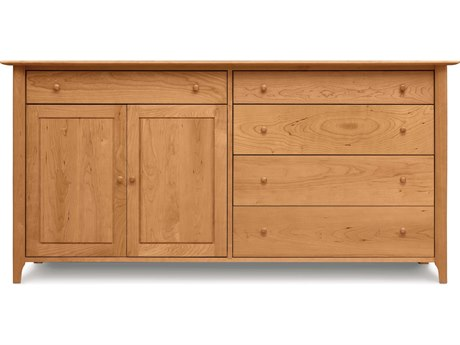 Copeland Furniture Sarah 73''L x 21''W Rectangular Four-Drawers on Right Buffet