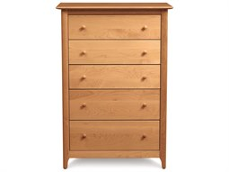 Sarah 34''W x 20''D Rectangular Five-Drawer Chest of Drawers